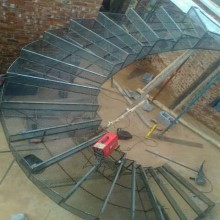 Concrete staircase builders